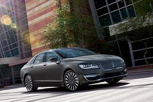 Grey Lincoln Sedan